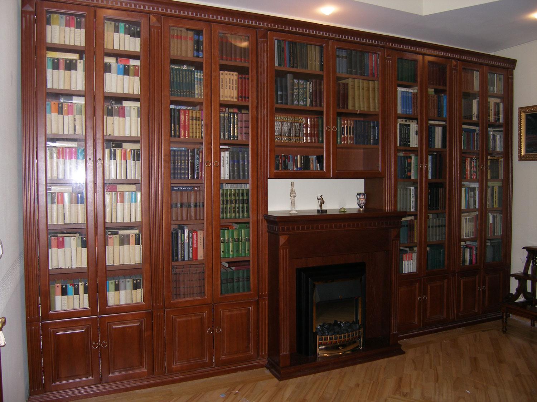 Библиотека классика бук - каталог мебели на заказ по индивид.